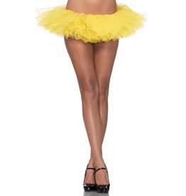 Leg Avenue Organza Tutu Yellow