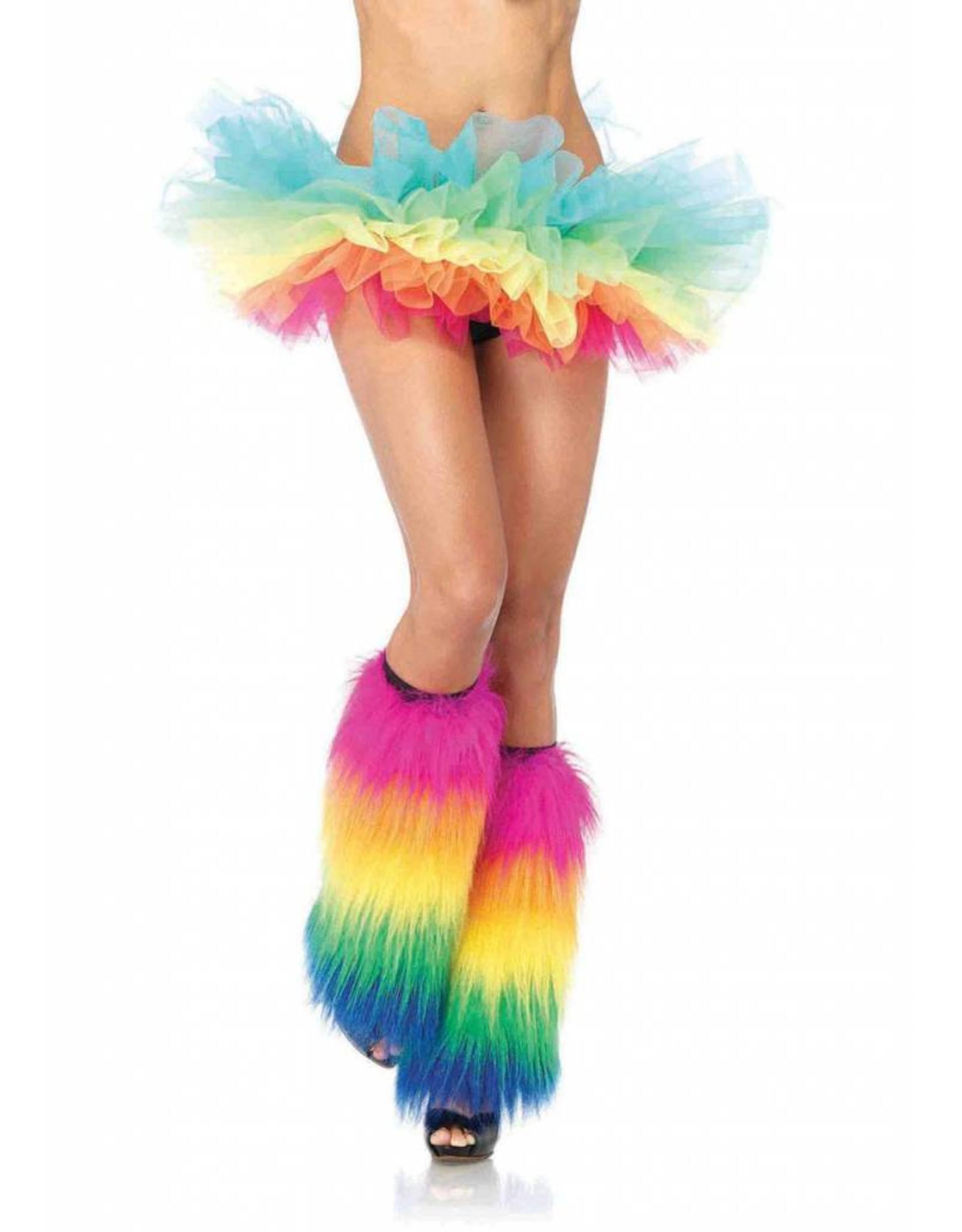 Leg Avenue Organza Tutu Rainbow