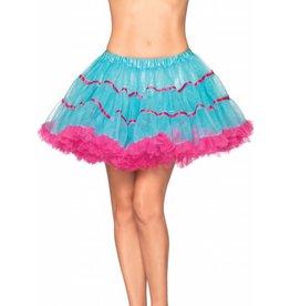 Leg Avenue Petticoat Turq/Pink