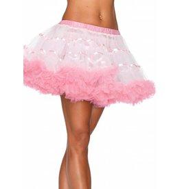 Leg Avenue Petticoat White/Pink