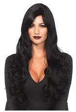 Long Wavy Wig Black