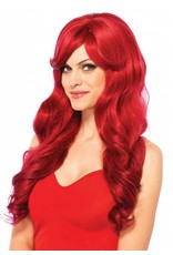 Leg Avenue Long Wavy Wig Red