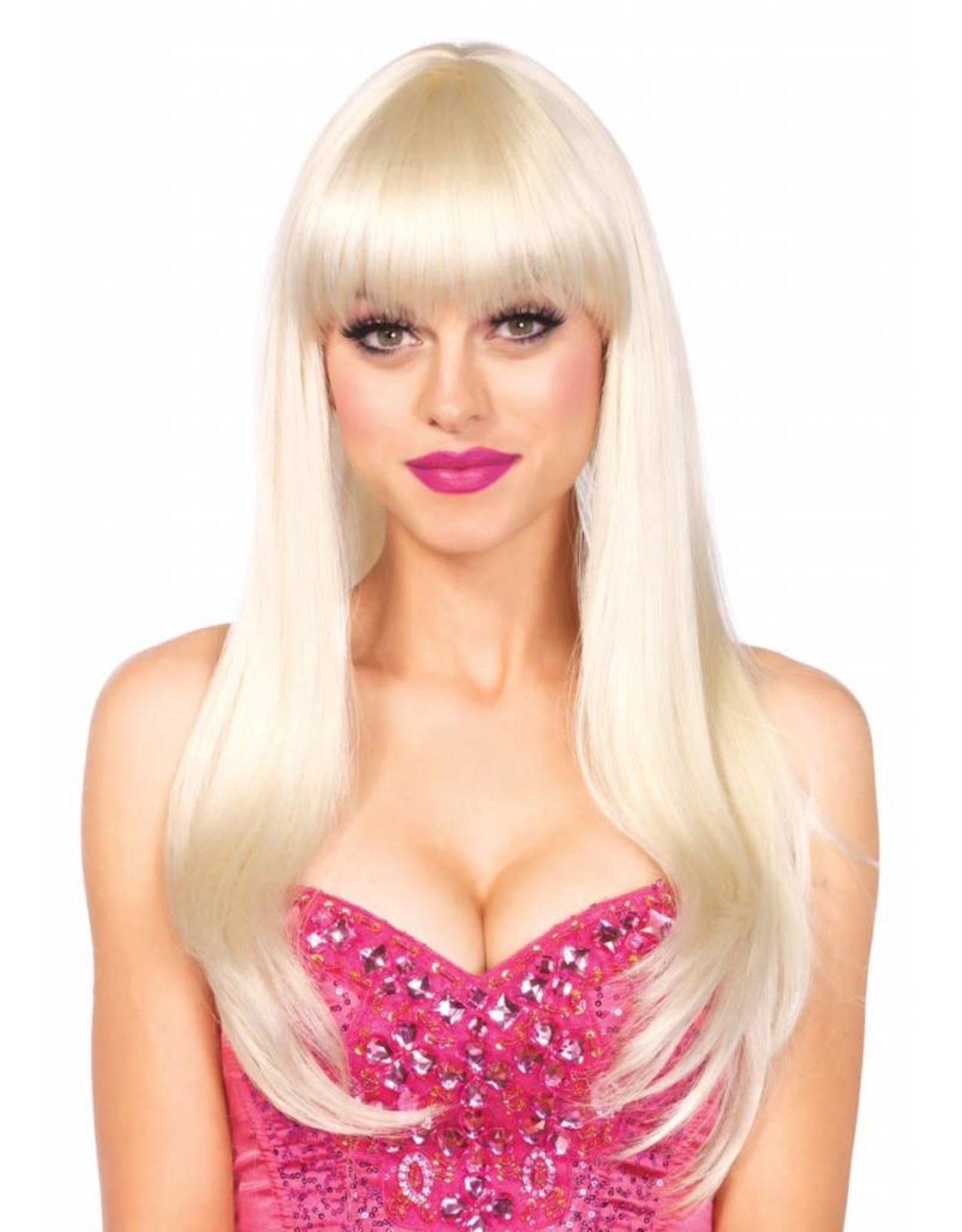 Leg Avenue Bangin Long Wig Blonde