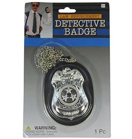 Forum Detective Badge on Chain