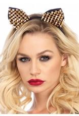 Leg Avenue Studded Cat Ears Gold