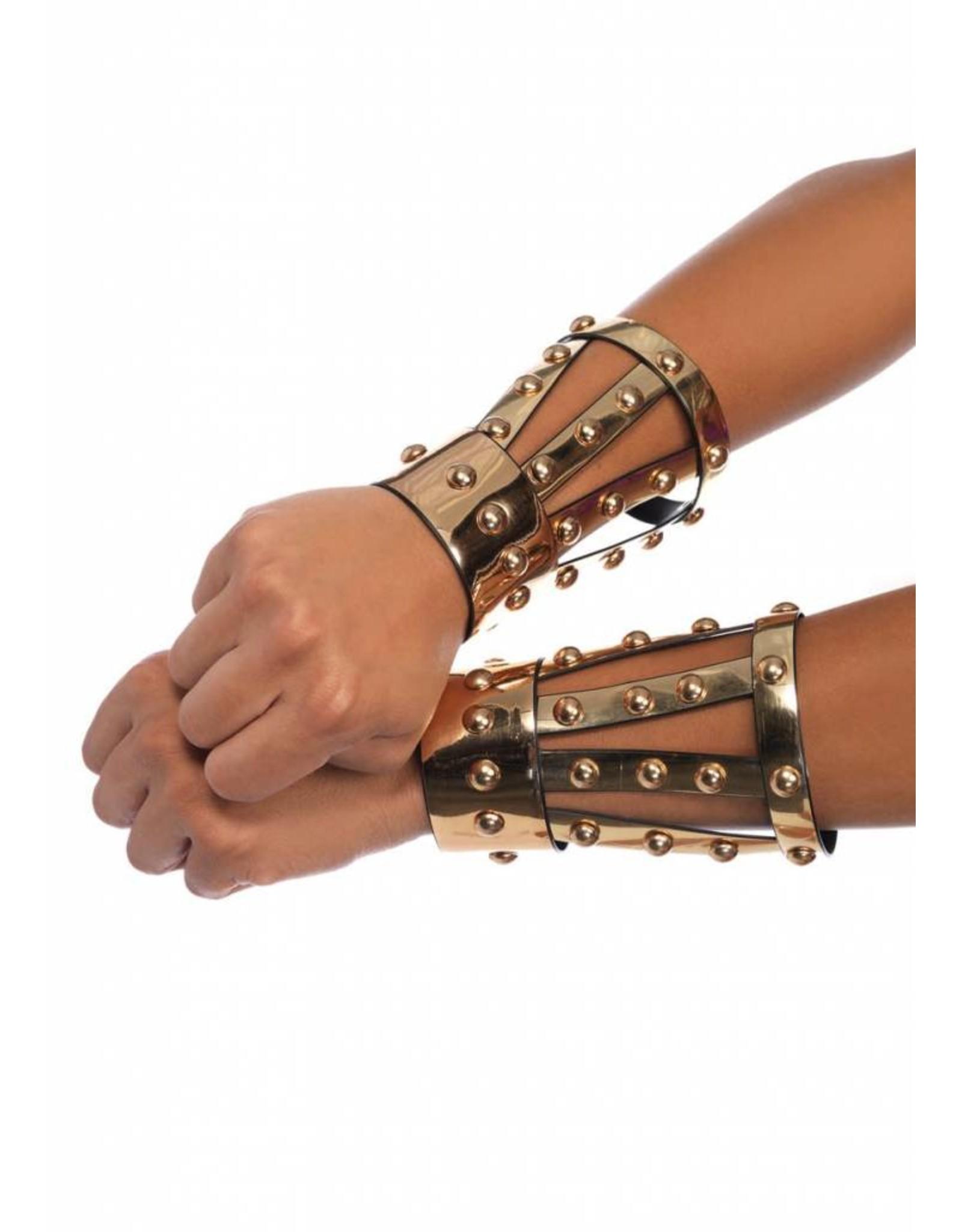 Leg Avenue Chrome Arm Cuffs