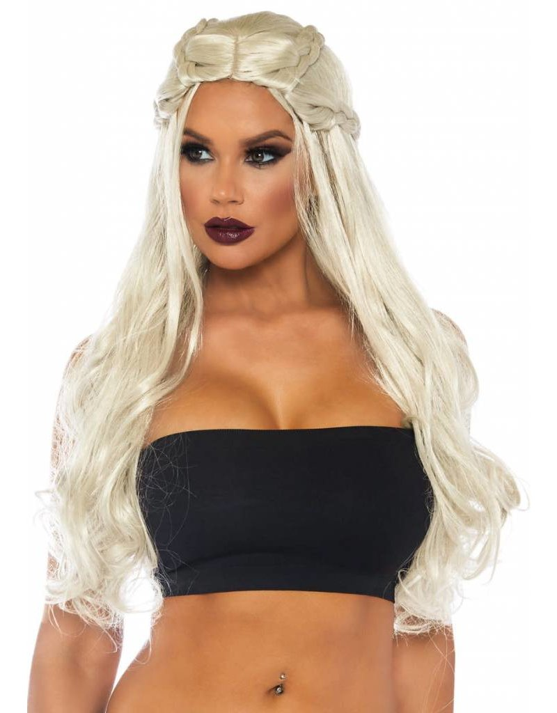 Leg Avenue Braided Wig Blonde