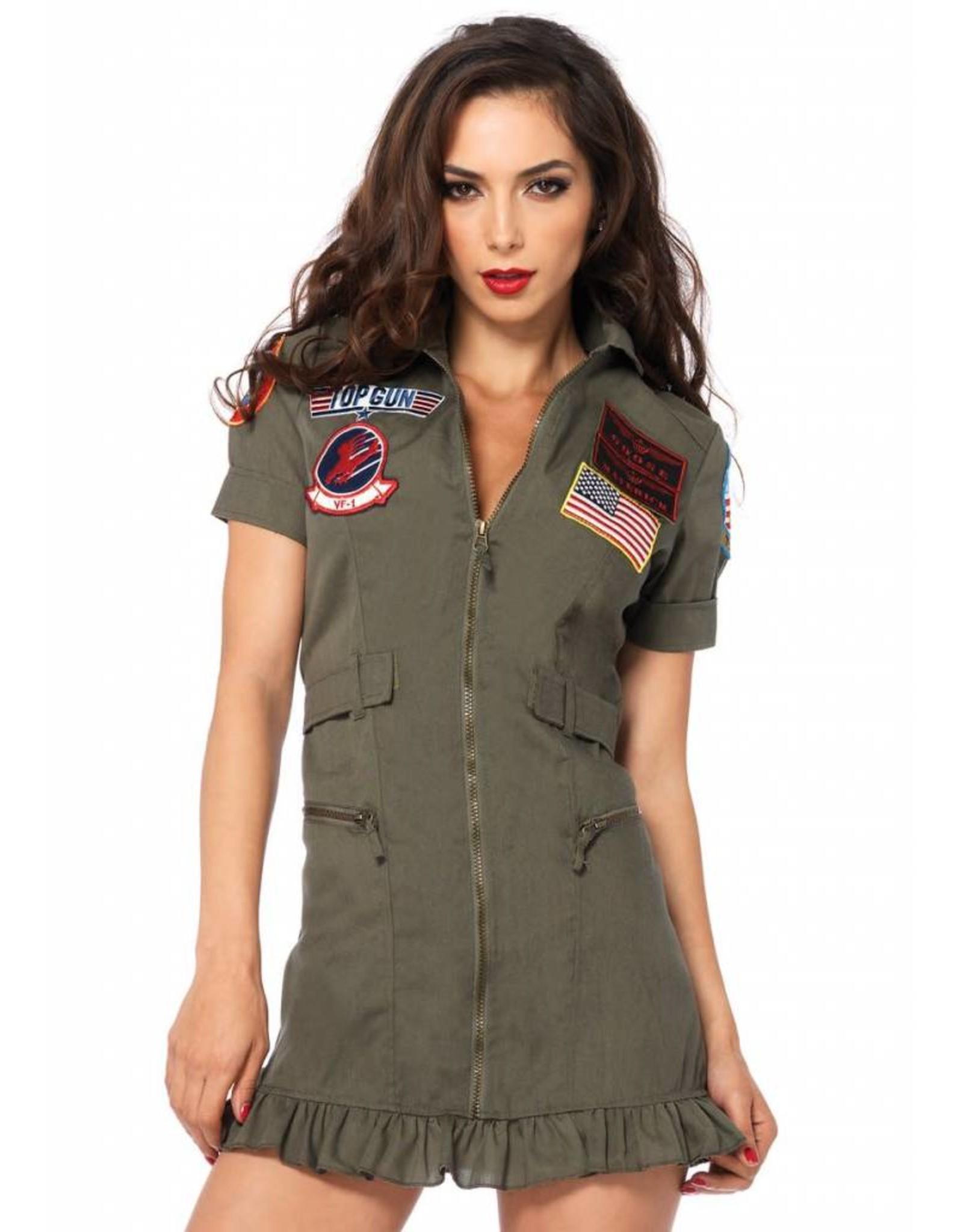 Leg Avenue Top Gun Flight Dress