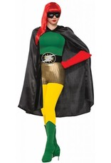 Forum Adult Hero Cape Black