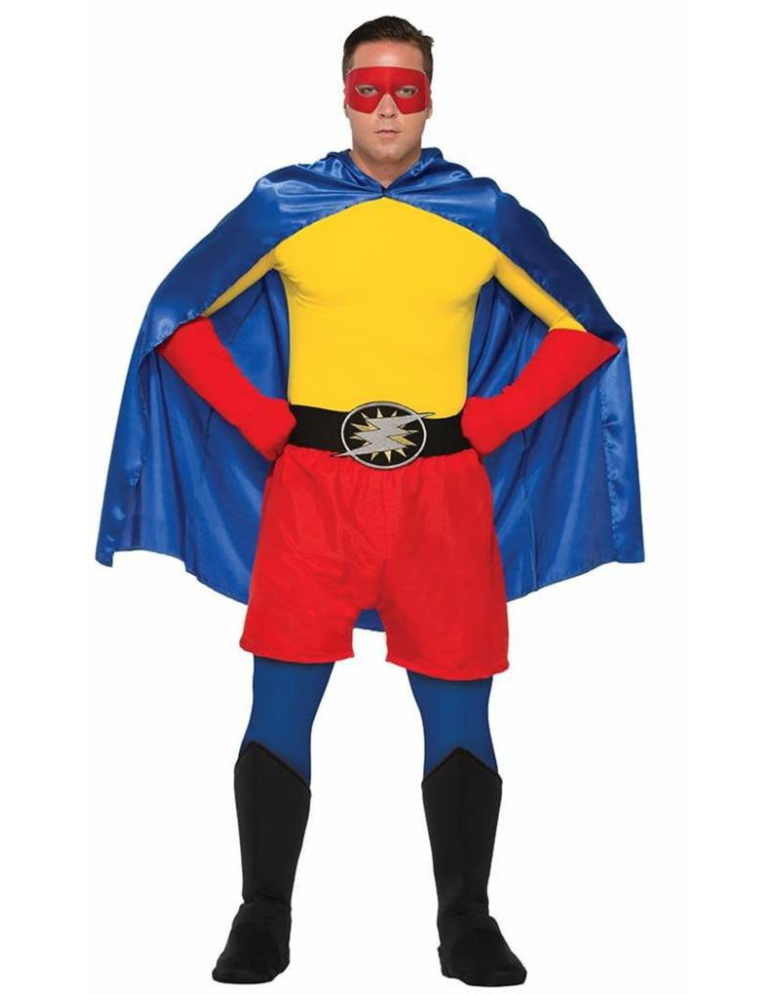 Forum Adult Hero Gauntlets Red