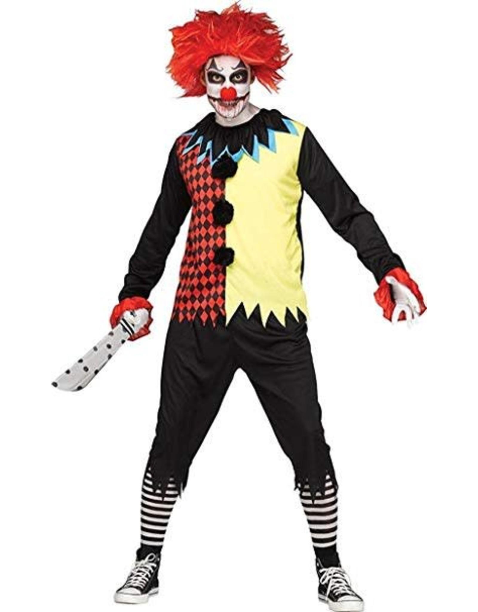 Funworld Freakshow Clown Adult OS