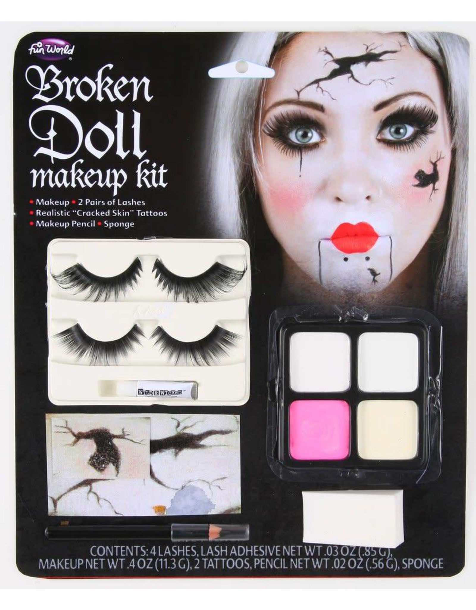 Funworld Doll Makeup Kit