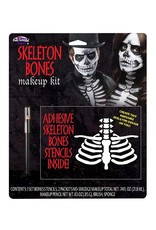 Funworld Skeleton Bones Makeup Kit