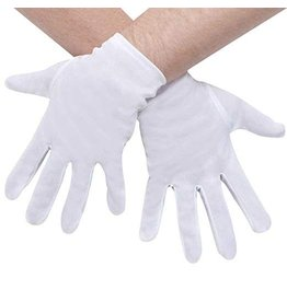 Funworld XL Short Gloves White
