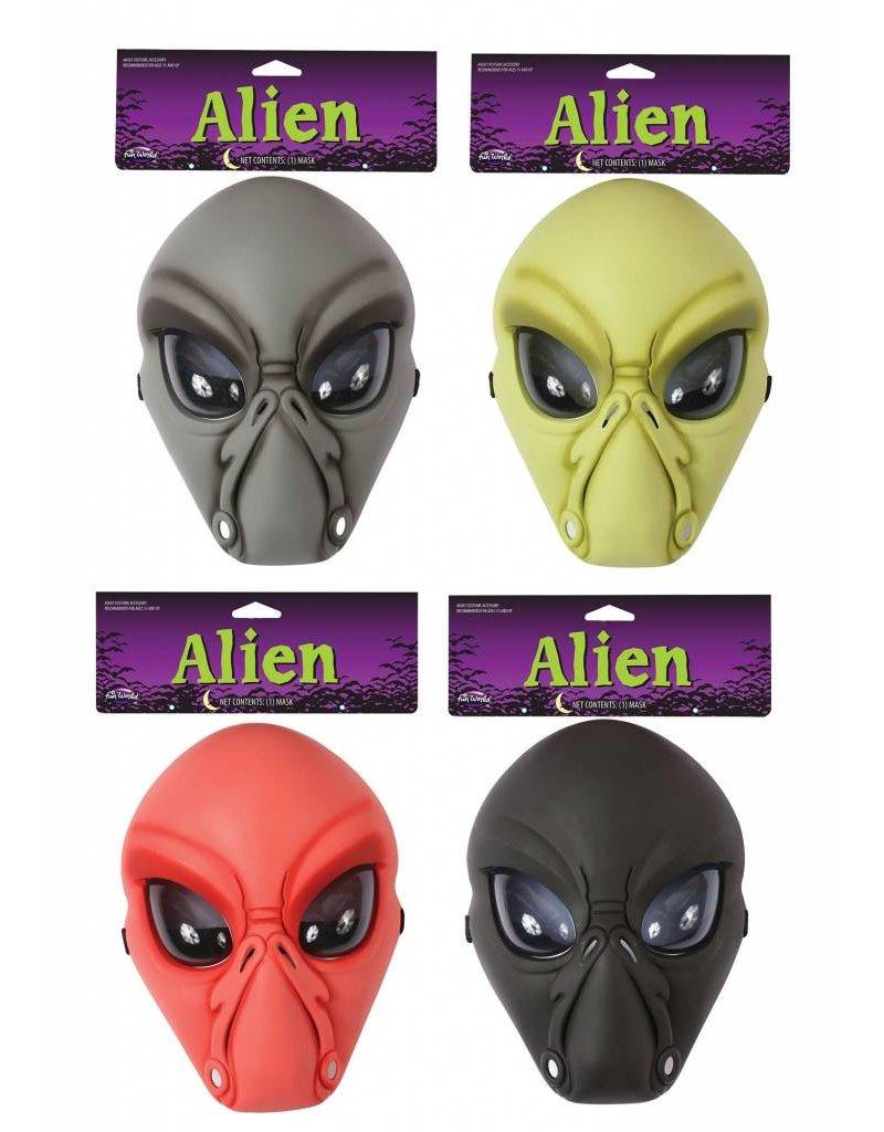 Funworld Alien Masks Asst.