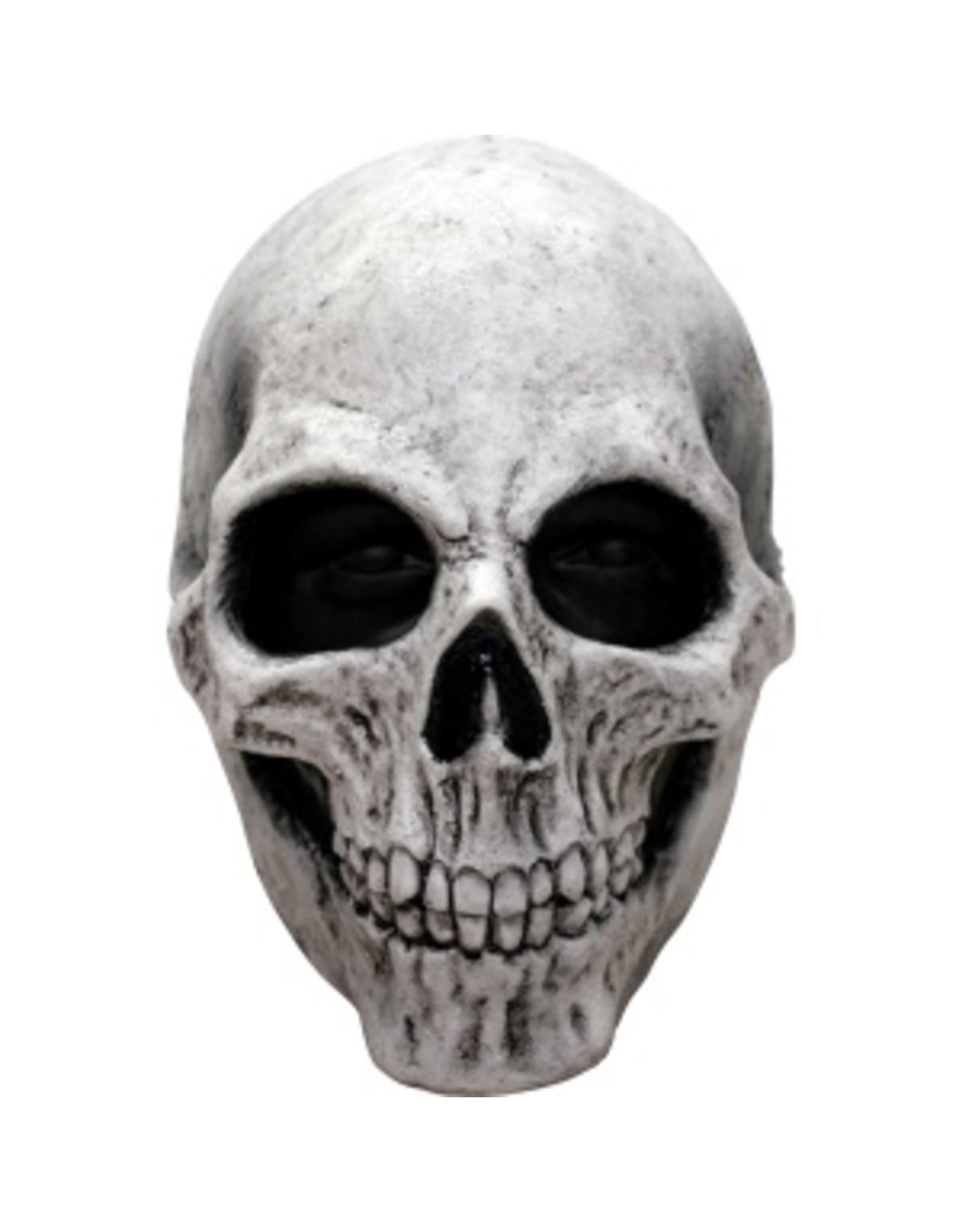 Ghoulish White Skull Mask