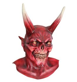 Ghoulish Red Devil Mask