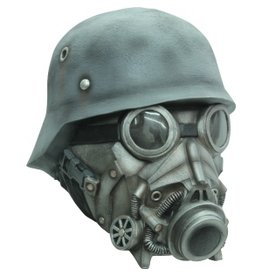 Ghoulish Chemical Warfare Mask