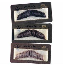 Rubies Gentlemans Mustache Grey
