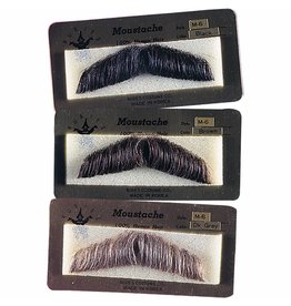 Rubies Gentlemans Mustache Brown