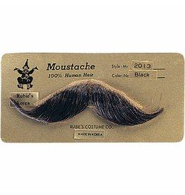 Rubies Handlebar Mustache Black