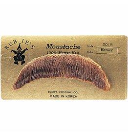 Rubies Basic Mustache Brown