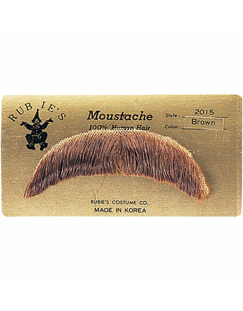 Rubies Basic Mustache Brown