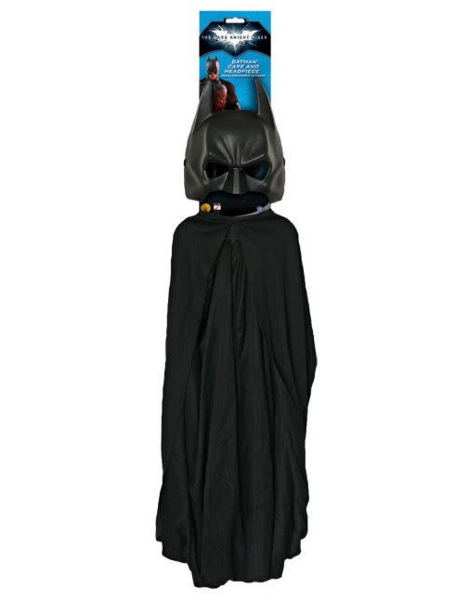 Rubies Batman Mask & Cape Adult