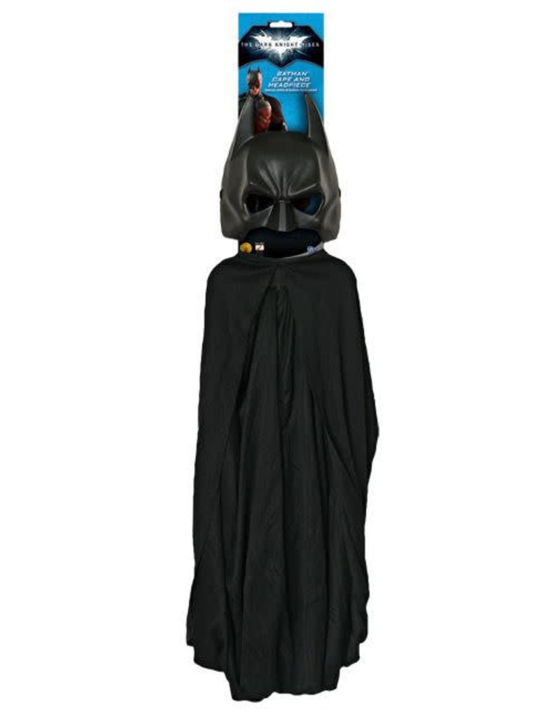 Rubies Batman Mask & Cape Adult