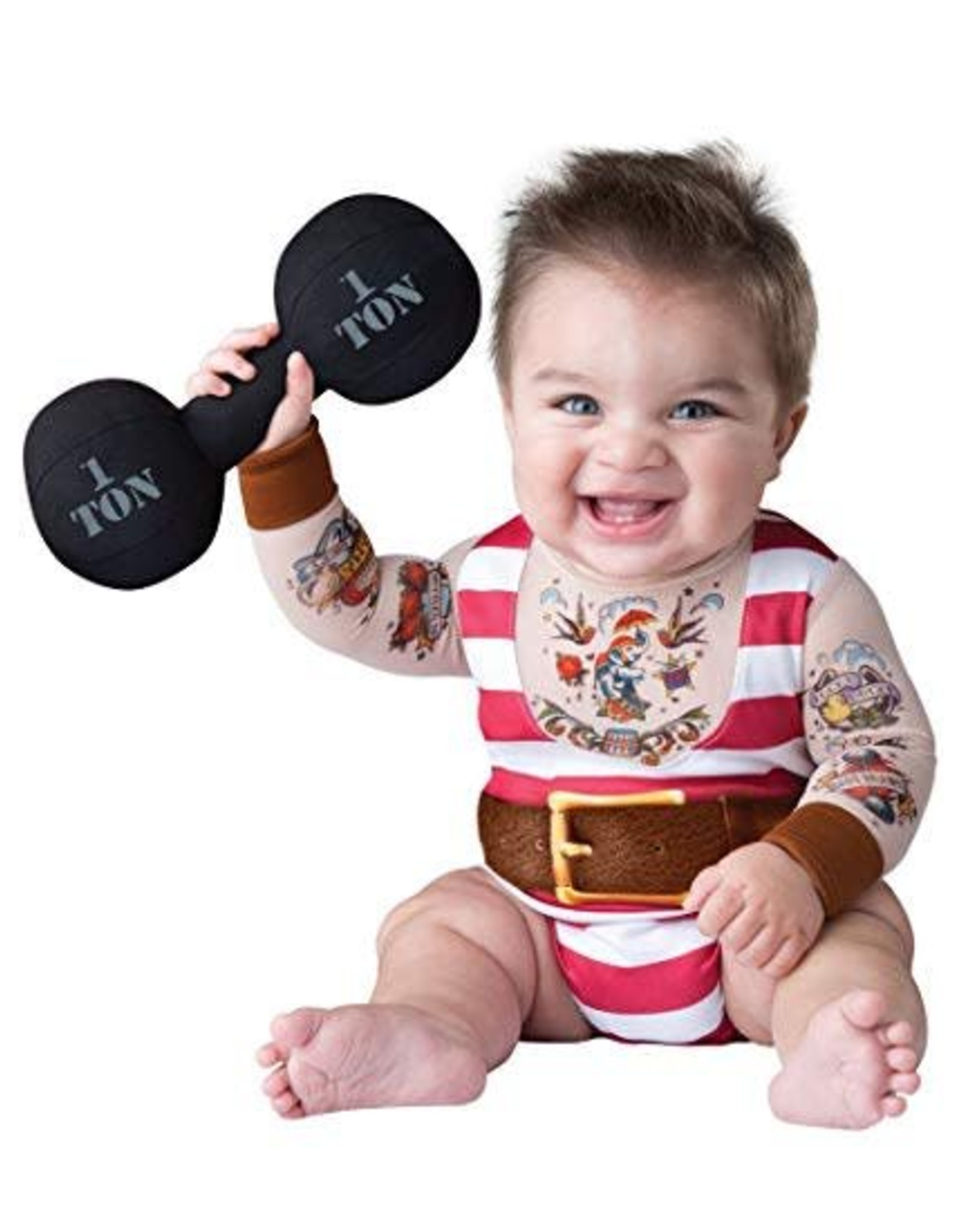 Incharacter Silly Strongman S (6-12mth)