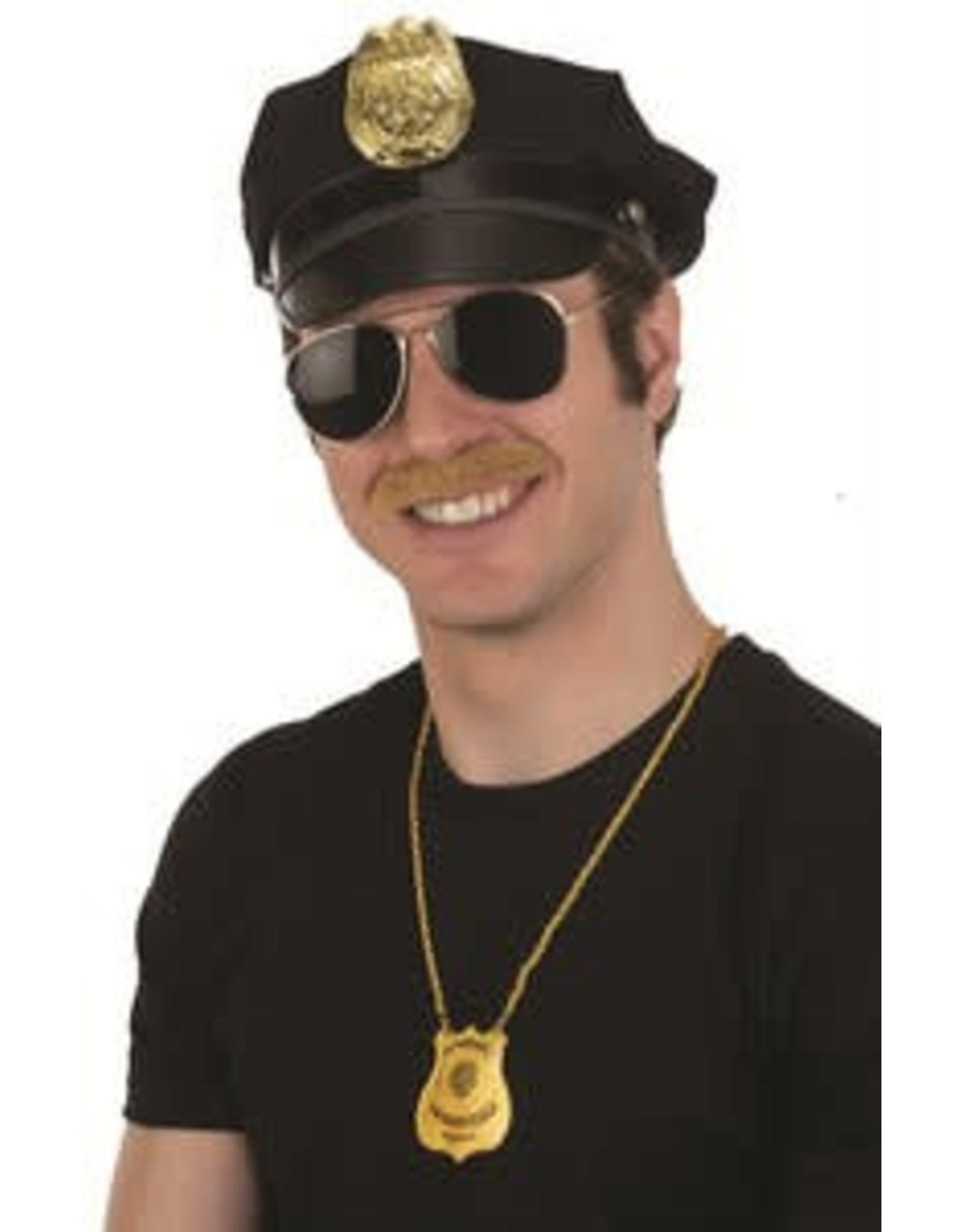 Jacobson Police Badge Hat Black