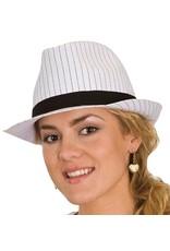 Jacobson White Stripe Fedora
