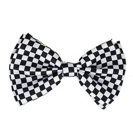Leema Bow Tie Checker Blk/Wht