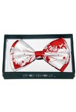 Leema Bow Tie Blood Print