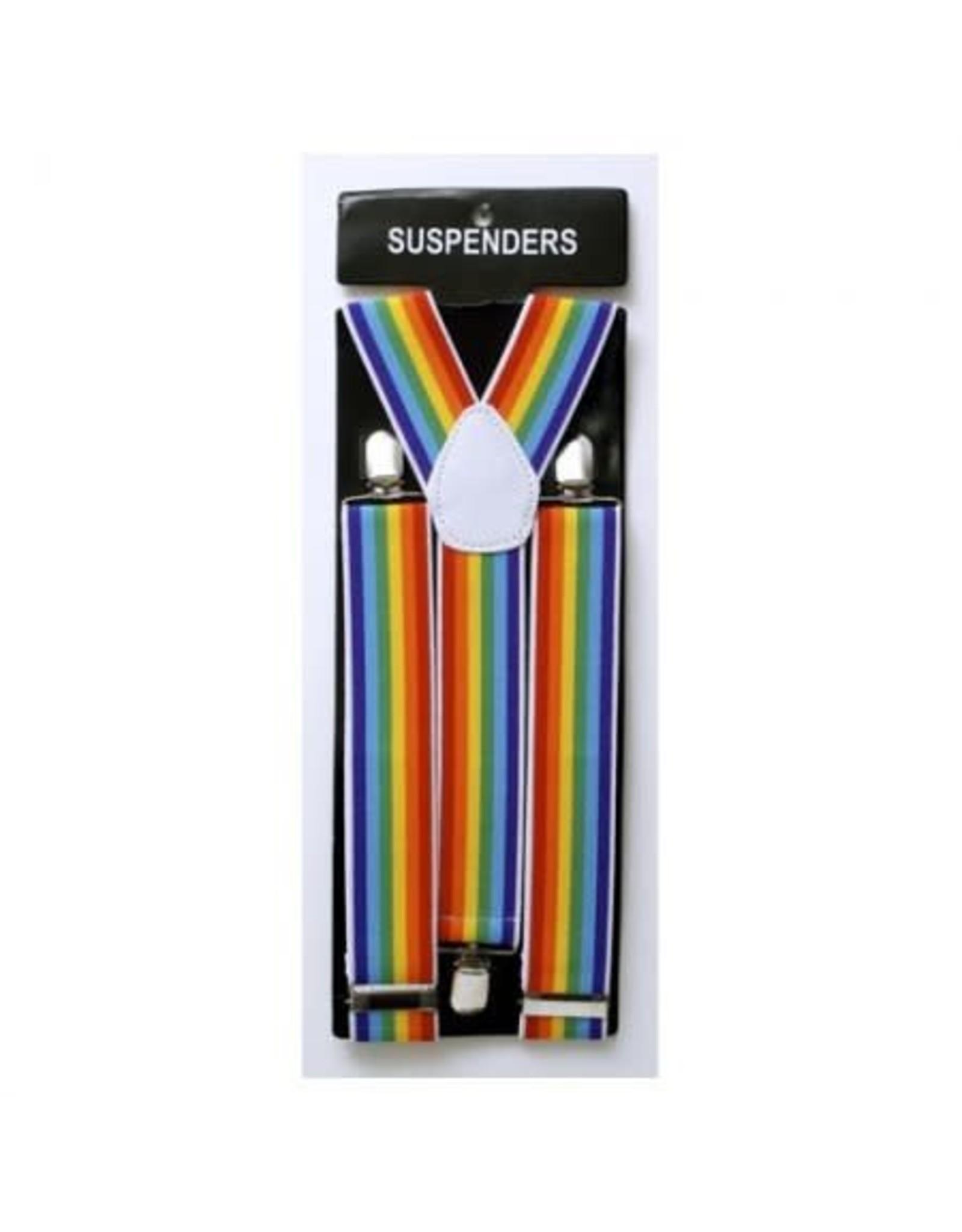 Leema Suspenders Rainbow
