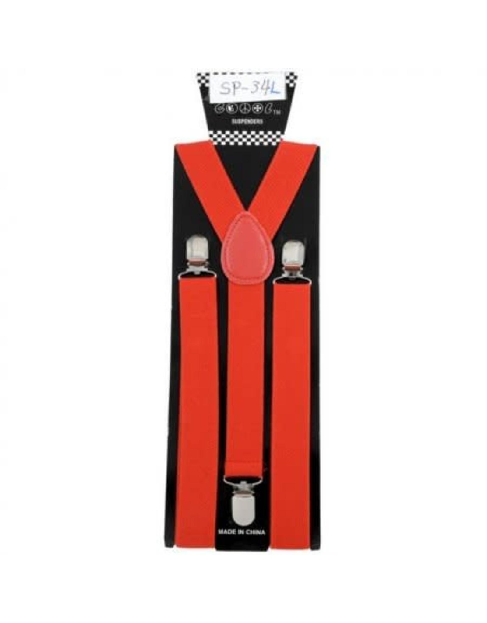 Leema Suspenders Red