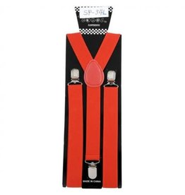 Leema Suspenders Red