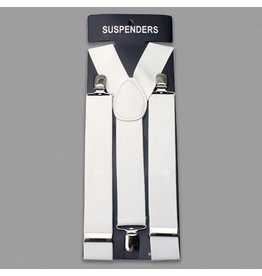 Leema Suspenders White