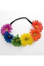 Leema Rainbow Flower Headband