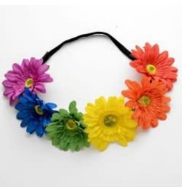 Leema Rainbow Flower Headband