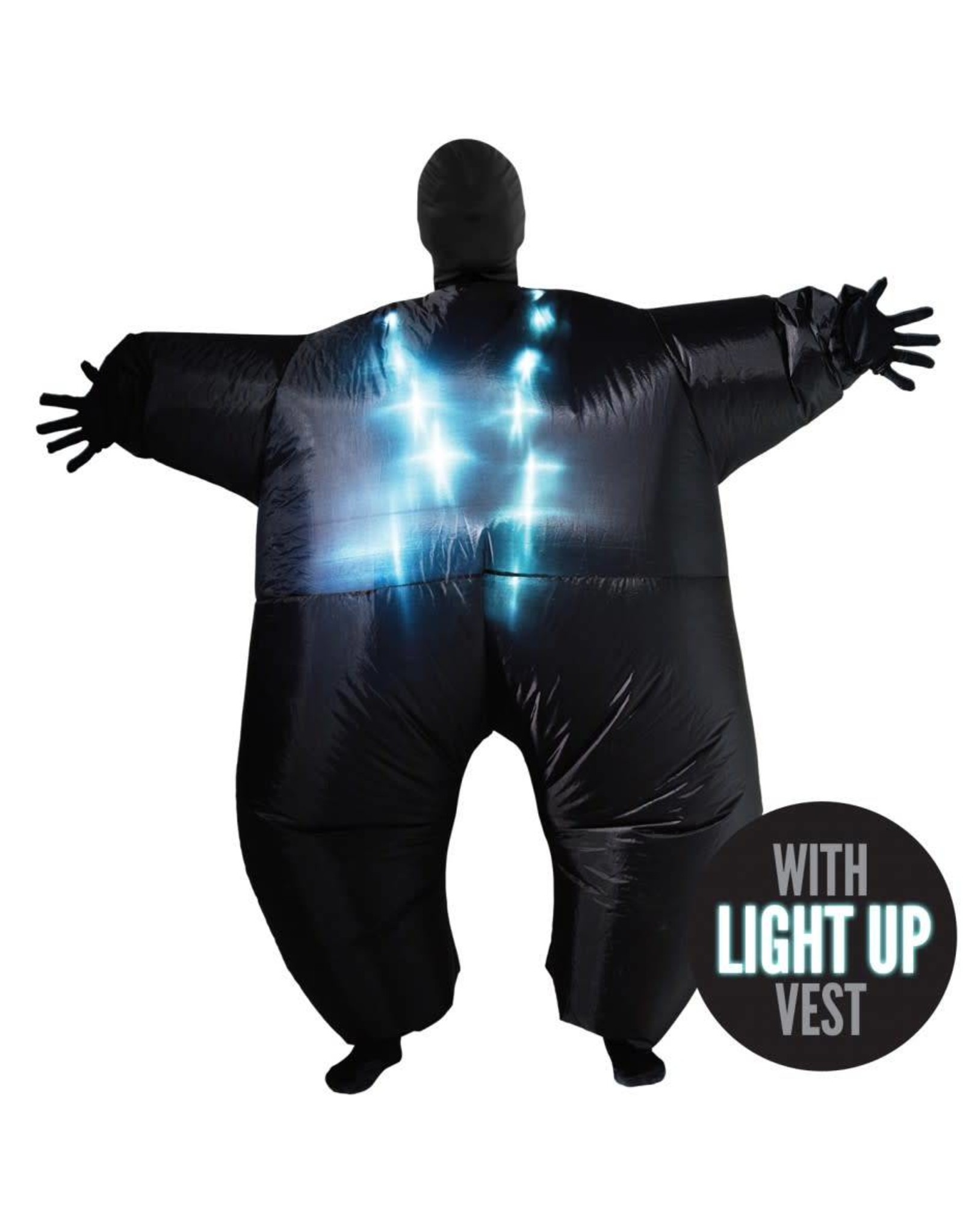 Morphsuits Light-Up Mega Morph Black