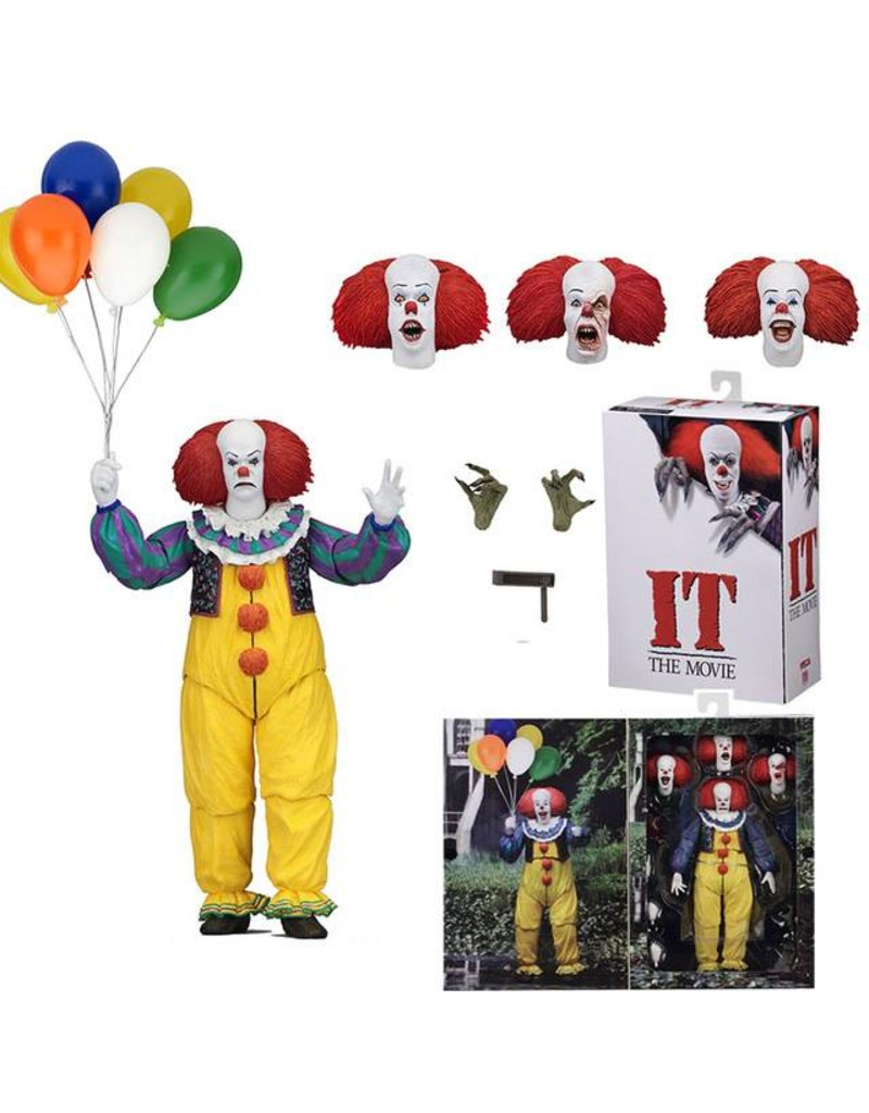 NECA Tim Curry Pennywise Figure