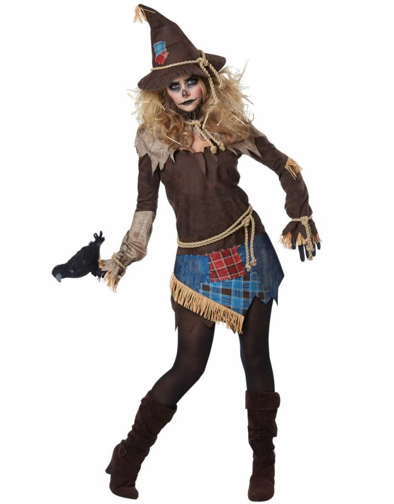 California Costume Creepy Scarecrow