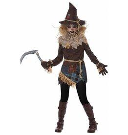 California Costume Creepy Scarecrow Girl