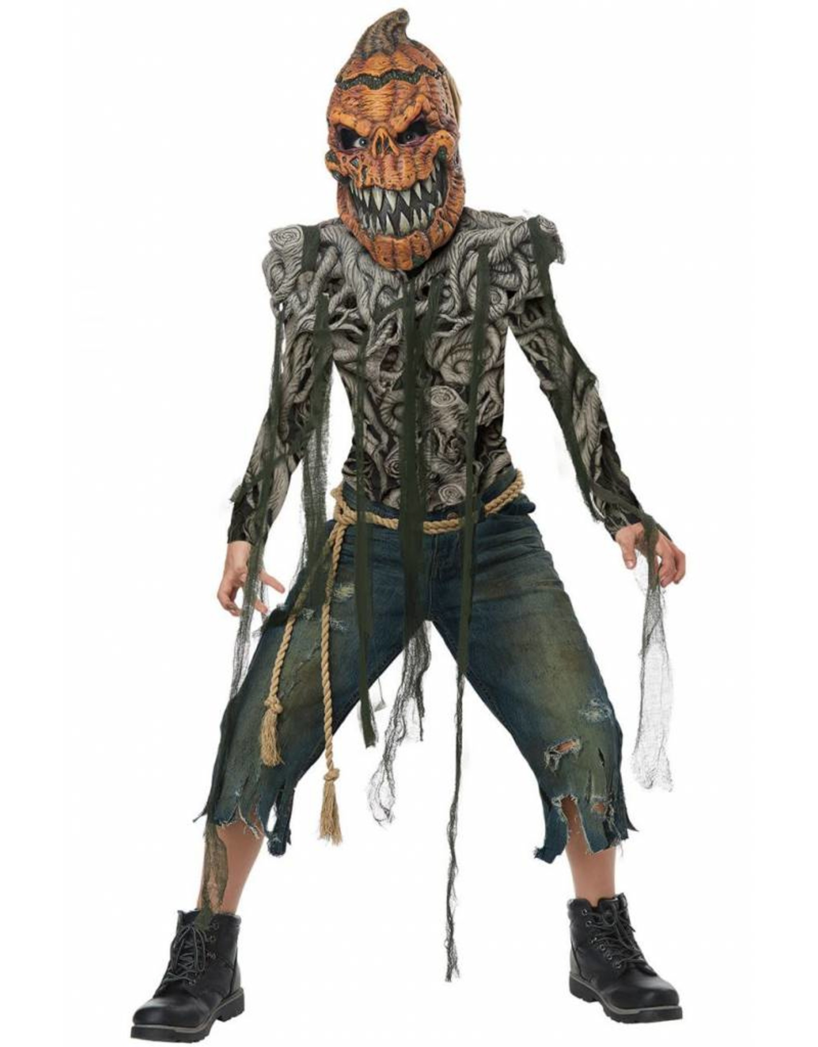 California Costume Pumpkin Creature