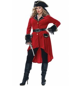 California Costume High Seas Heroine Plus