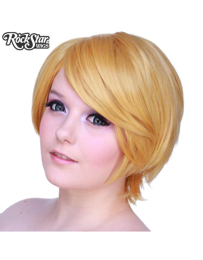 Rockstar Wigs Boy Cut Pale Blonde