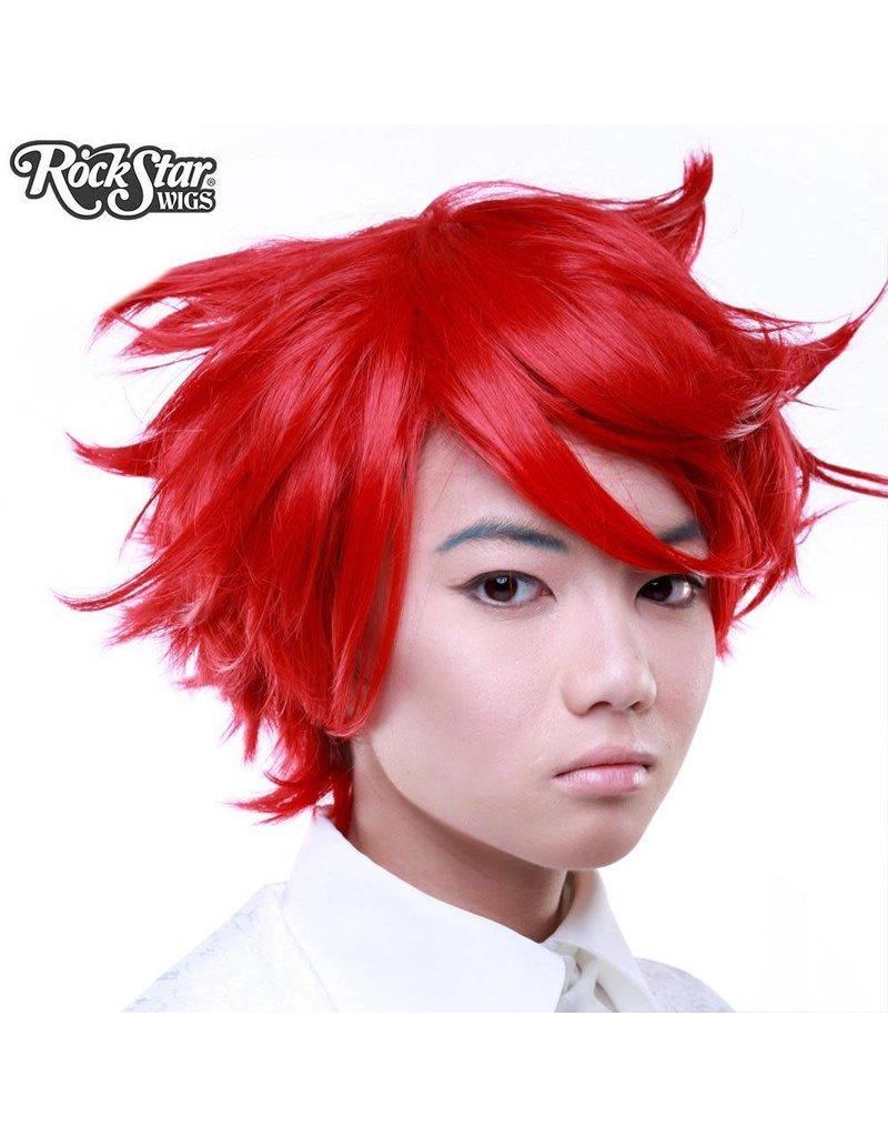Rockstar Wigs Boy Cut True Red