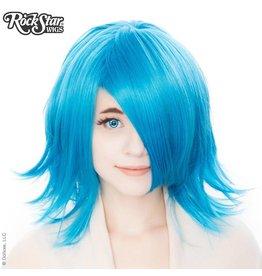 Rockstar Wigs Shag Aqua Blue Wig
