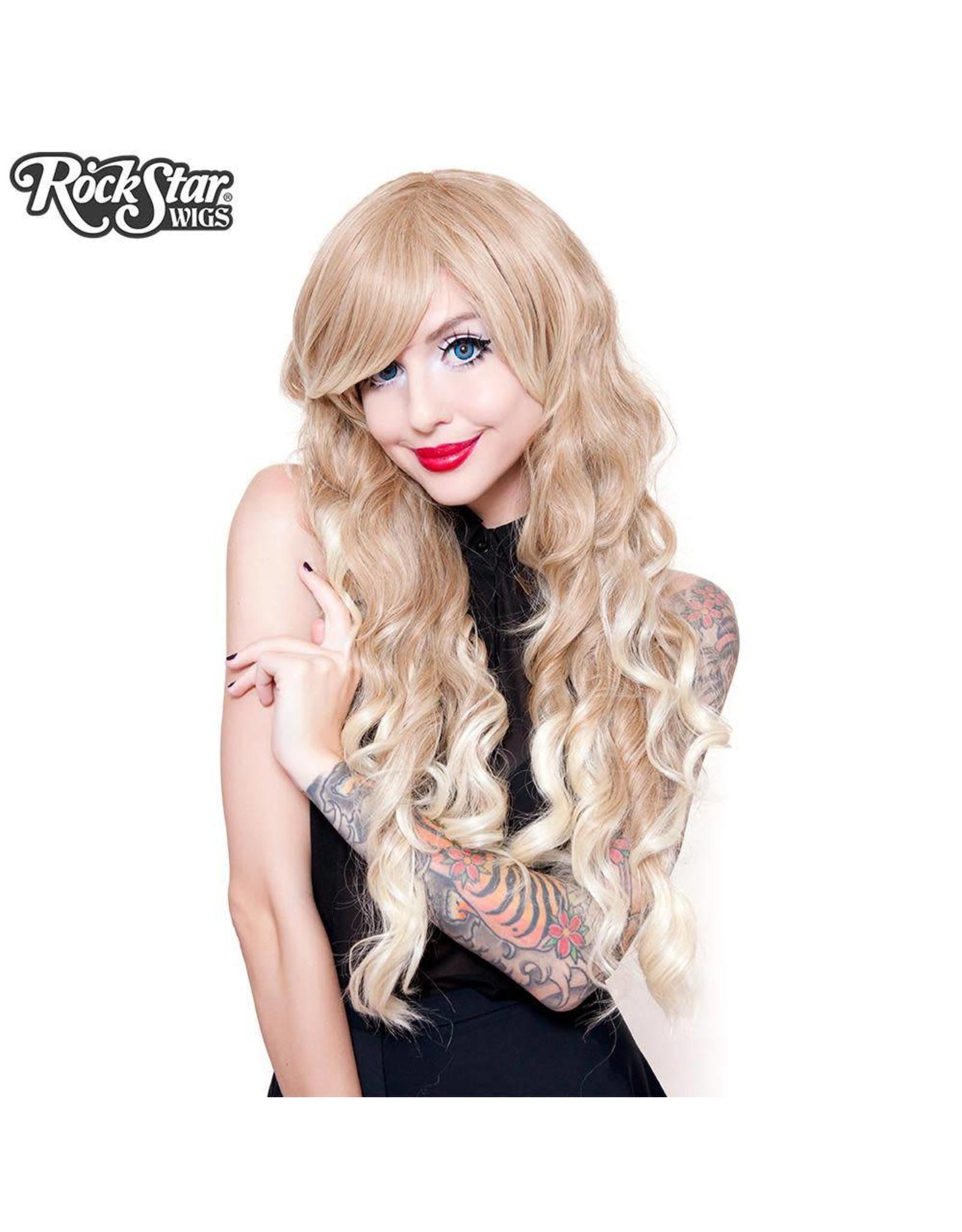 Rockstar Wigs Classic Wavy Blonde Fade Wig